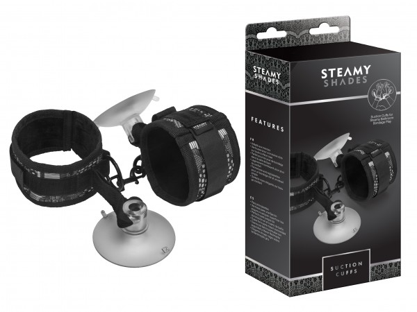 STEAMY SHADES Suction Cuffs