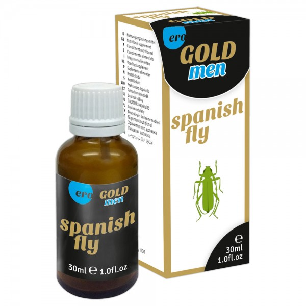 HOT Spanish Fly - Gold men, 30 ml