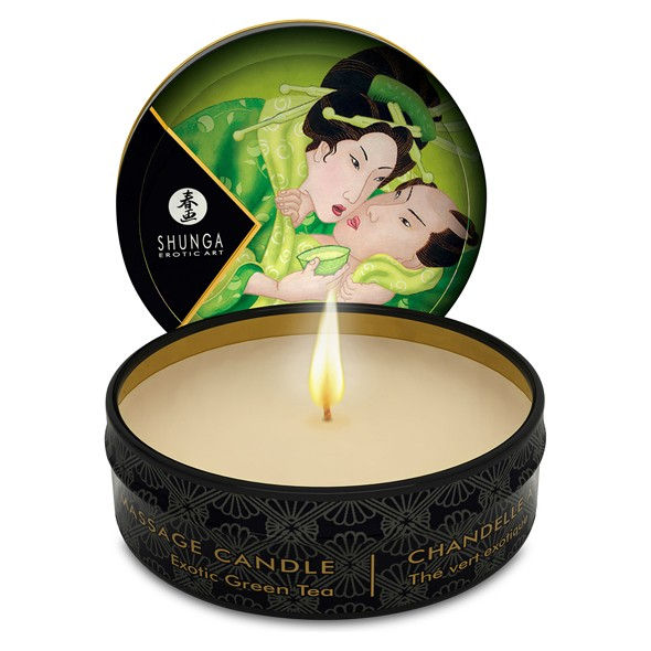 Shunga - Massage Candle Green Tea 30 ml
