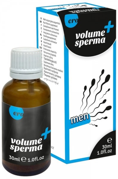 Volume Sperma + men 30 ml