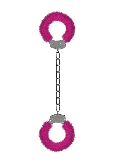 Furry Ankle / Hand Cuffs - Pink