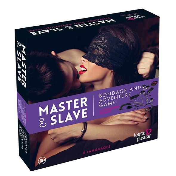 Master & Slave Bondage Game Purple