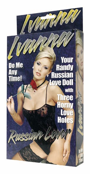 Puppe Ivanna - Russian Lover