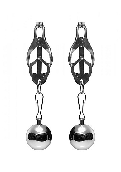 Deviant Monarch Weighted Nipple Clamps