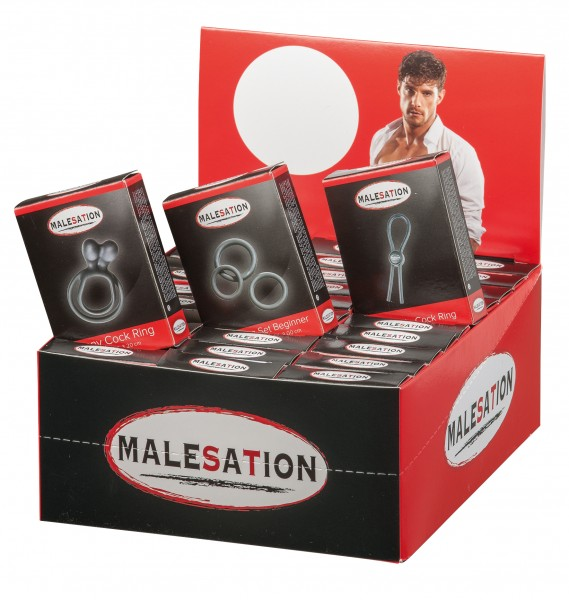 MALESATION Display Set Beginner, Bunny & Adjust.CR